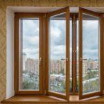 Деревянные окна для дома