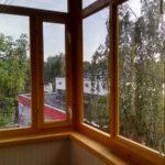 Рамы из дерева для балконов и лоджий